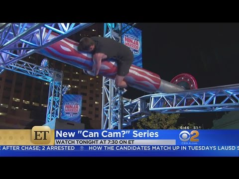ET's Cameron Mathison Tries To See...'Can Cam?'