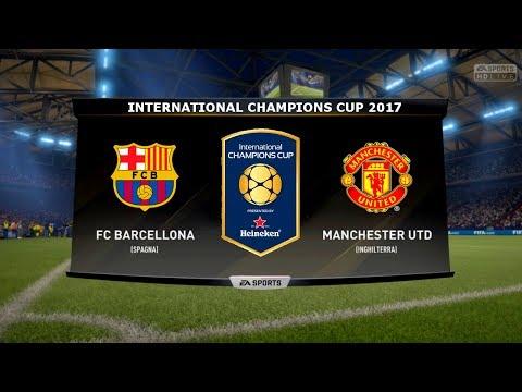 FC BARCELONA VS MANCHESTER UTD - INTERNATIONAL CHAMPIONS CUP 26/07/2017 |FIFA 17 Predicts - Pirelli7