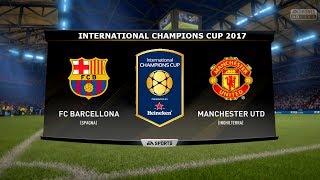 vuclip FC BARCELONA VS MANCHESTER UTD - INTERNATIONAL CHAMPIONS CUP 26/07/2017 |FIFA 17 Predicts - Pirelli7