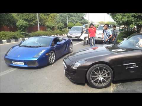 Supercars In India Delhi Cannonball Club Youtube
