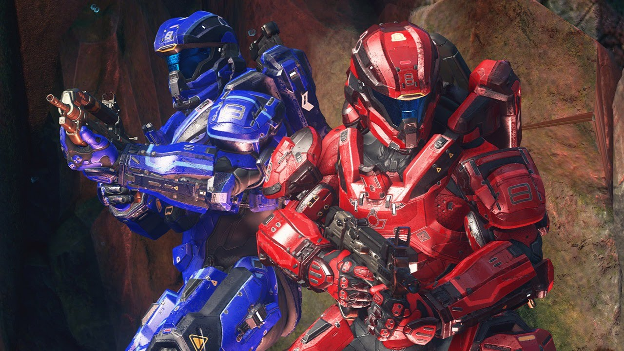 Halo 5 Arena Multiplayer Commentary: CTF on Fathom