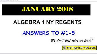 algebra 1 nys regents 2018 2017 2015 january august june. Black Bedroom Furniture Sets. Home Design Ideas