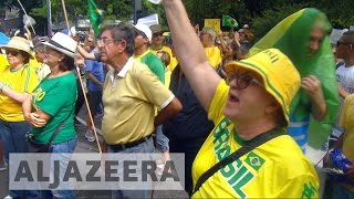 Thousands rally across Brazil for anti-corruption probe