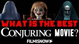 ALL CONJURING HORROR MOVIES RANKED