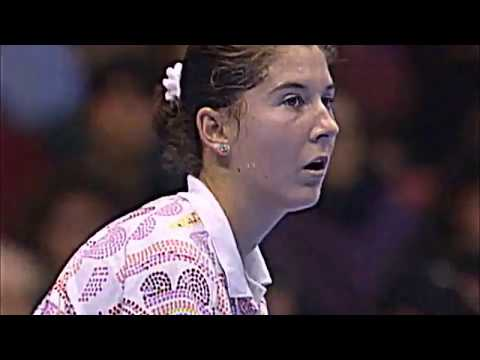 Monica Seles vs Martina Navratilova 1993 Gaz De France Highlights