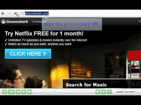 How to Get Music url with URL Helper from grooveshark