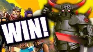 Clash Of Clans and MORE With Peter17$ - Winning!