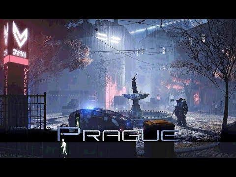 Deus Ex: Mankind Divided - Prague: Překážka District Curfew 1 Hour of