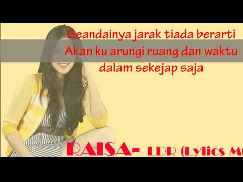 RAISA LDR (LYRICS VIDEO)