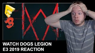 REACTION: Watch Dogs Legion E3 2019 Announcement Live w/ Chat!