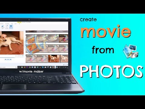 How To Make MOVIE With Pictures, Music & Sound In 2019 (w/movie Maker)