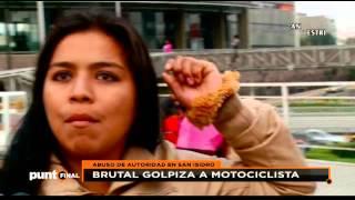 Carlos Urrutia: la verdad del motociclista golpeado brutalmente