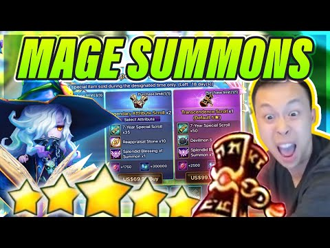 NEW Packs + NEW Units = I Summon! Mages PLEASE! - Which One Is OP?!