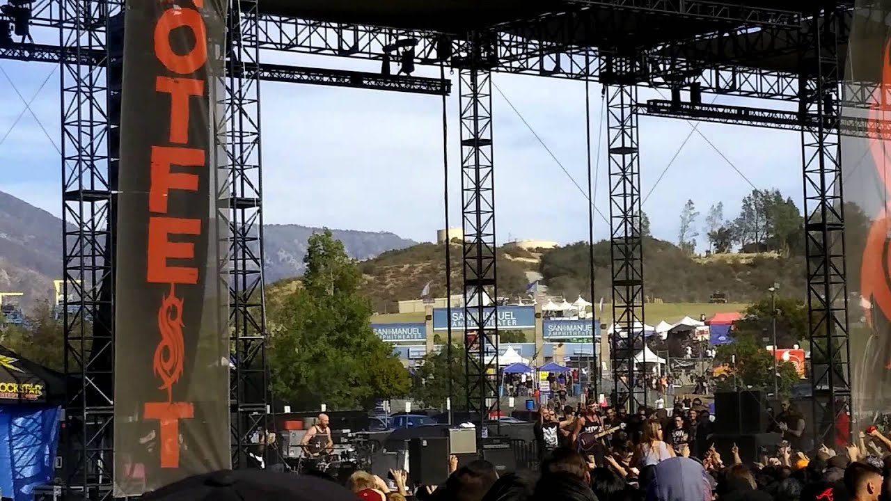 Knotfest Day 3 Killswitch Engage Youtube