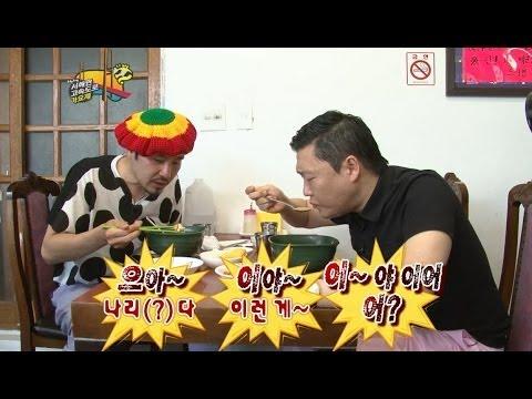 【TVPP】PSY - PSY eating spicy jjamppong with No Hongchul, 싸이 - 노홍철과 매운 짬뽕 먹는 싸이 @ Infinite Challenge