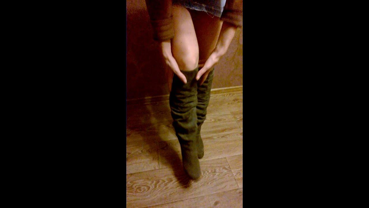 Хромовые сапоги/ box-calf boots - YouTube