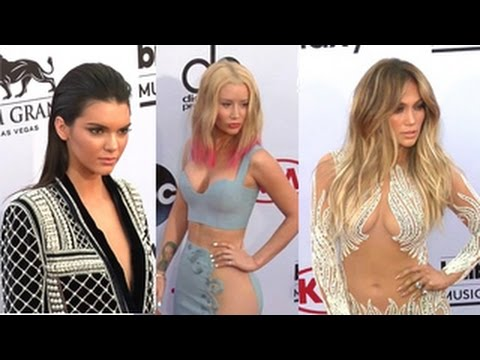 Celebrities Arrive At The 2015 Billboard Music Awards- Taylor Swift, Iggy Azalea And More