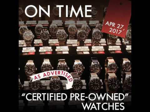 Certified Pre-Owned Watches?