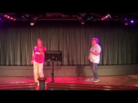 Two guys meet and form karaoke duo on coral princess