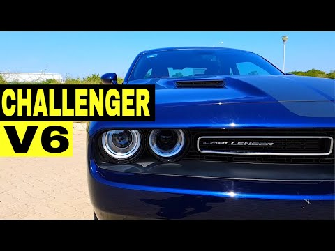 Dodge Challenger V6 - Auto Americano Deportivo Potente Motor Pentastar