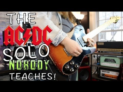 The AC/DC Solo Nobody Teaches!