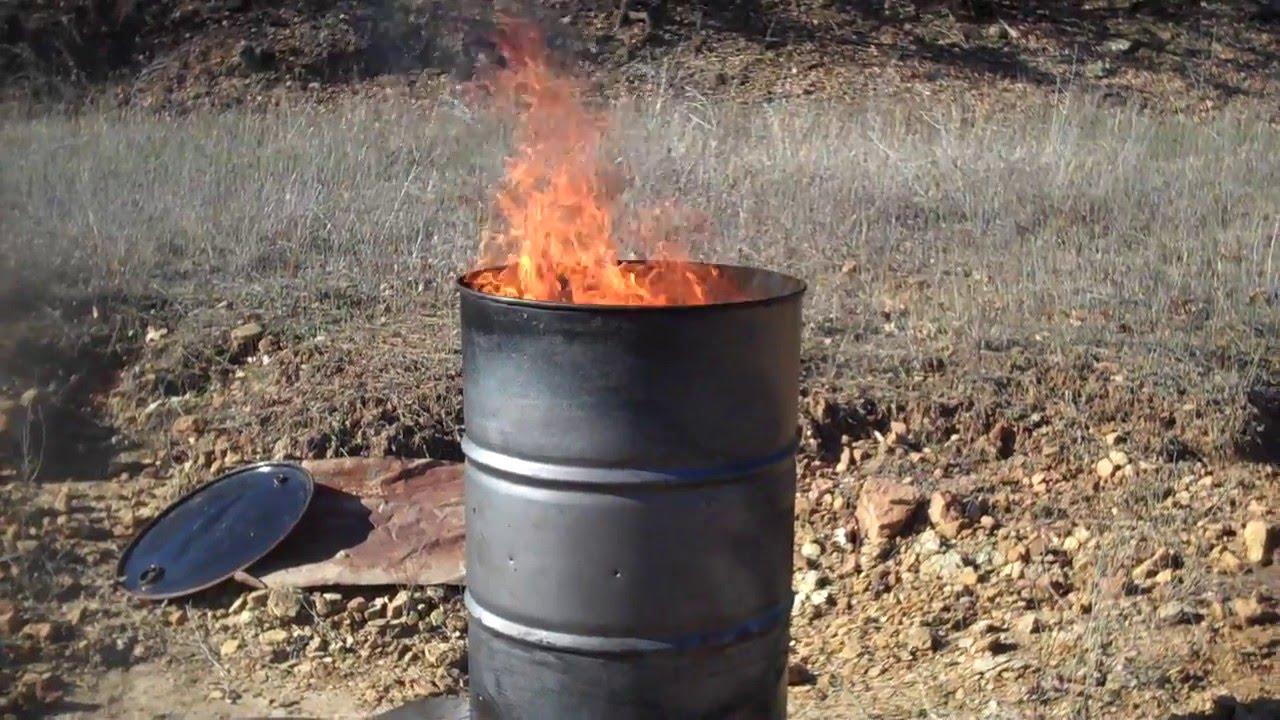 How to Burn Trash
