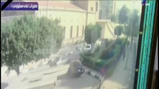 بالفيديو لحظة دخول الإرهابي الكنيسة البطرسية بحزام ناسف