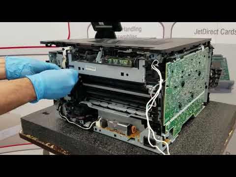 How to Install HP CP1025 M251 M276 Fuser Replacement Instructions  RM1-8780