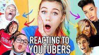 Reacting to Youtube I