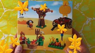 LASTENOHJELMIA SUOMEKSI - Lego 40261 - Kiitospäivän sadonkorjuu setin avaus - osa 1