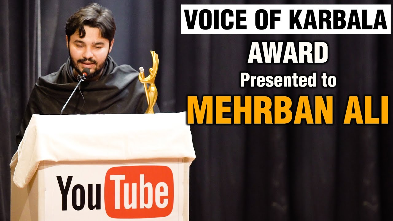 Voice of Karbala Award Presented to Mehrban Ali Shamsi | Most Popular Voice About Events of Karbala