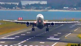 AWESOME Takeoffs & Landings on Runway 34R | Sydney Airport Plane Spotting