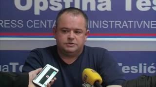 TESLIĆ - POTPISAN UGOVOR O PROŠIRENJU VODOVODNE MREŽE 05. 01. 2017.