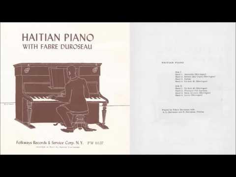 Haitian Piano (Fabre Duroseau) (1952, LP, vinyl)