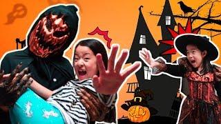 할로윈 특집 호박유령 잭오랜턴이 나타났다!! 해골유령 신비아파트 아엘튜브 Halloween Pumpkin Legend of Jack o'lantern