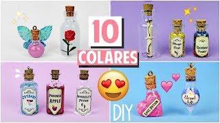 DIY: COLARES INCRÍVEIS DE MINI GARRAFINHAS #2