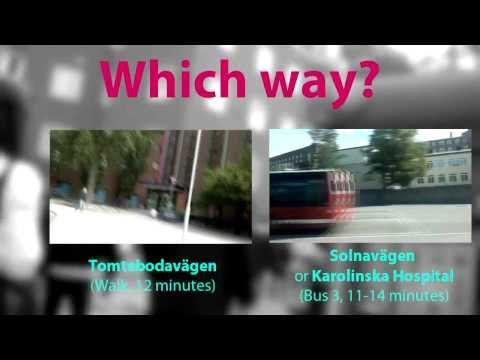 Let's Go to KI Solna! [START]