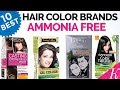 10 Best Ammonia Free Hair Color Brands in India with Price