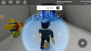 Playing Survival the Ayuwoki in Roblox.