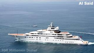 Top 10 der teuersten Yachten der Welt