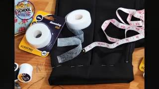 How To Hem Trousers Using Korbond Hemming Web - Sew Free
