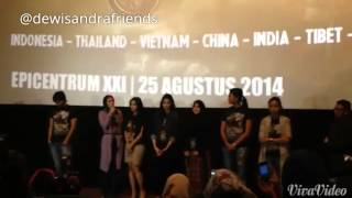 Dewi Sandra Launching Trailer Haji Backpacker 1
