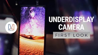 OPPO's Under Display Camera!