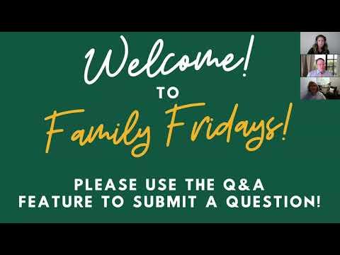 Family Friday: Residence Life