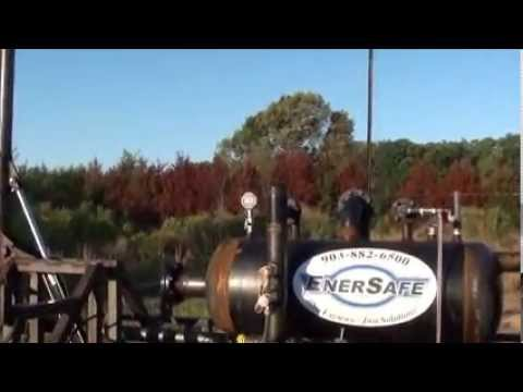 EnerSafe Portable Flare Burner Test