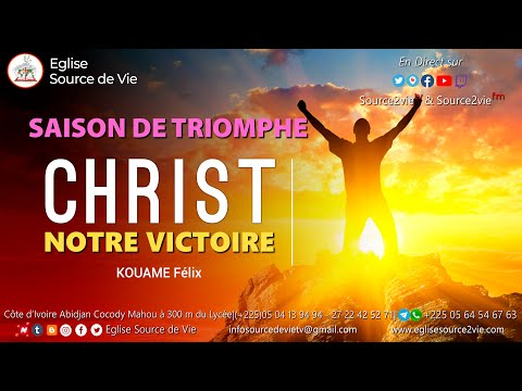 Saison de Triomphe - Jour 1 | Christ notre Victoire