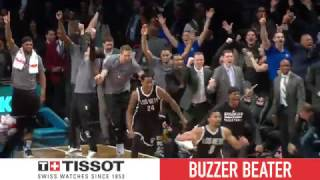 Tissot Buzzer Beater: Brook Lopez Wins It for Nets | March 21, 2017