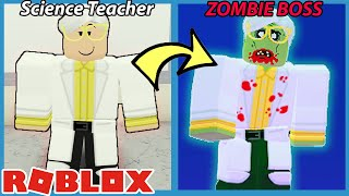 THE SCIENCE TEACHER WAS INFECTED!! - Roblox Field Trip Z New Ending