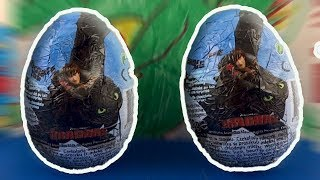 How To Train Your Dragon Surprise Eggs Opening #192
