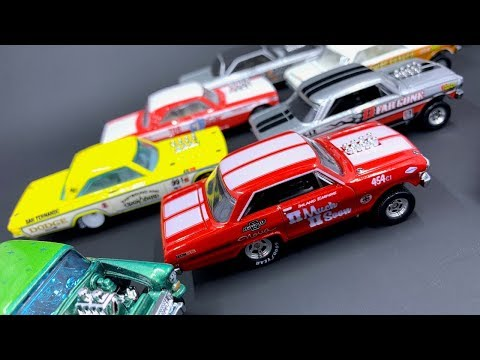 Lamley Showcase: Hot Wheels Drag Strip Demons, from pegwarmer to Car Culture must-have!